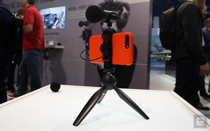 Shure MV88+ 錄音套裝,讓你輕鬆提升直播效果