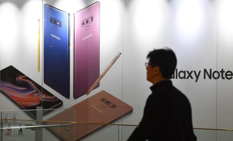 Samsung 是又一家預期業績下滑的巨頭