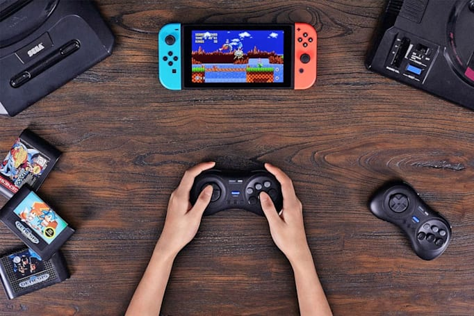 8BitDo made a wireless controller for Sega Genesis fans