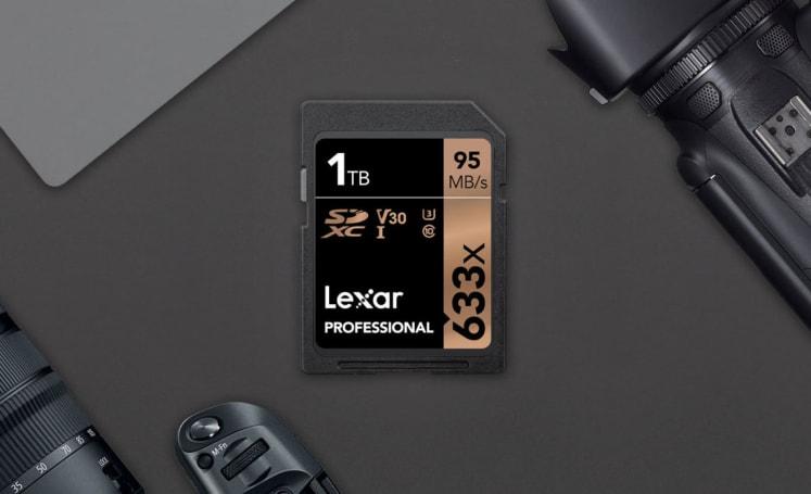 Lexar 將在市場首推 1TB SDXC 記憶卡