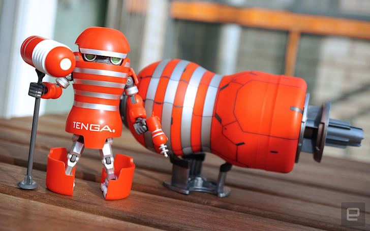 活 · 科技:Tenga Robo 机器人初回限定组