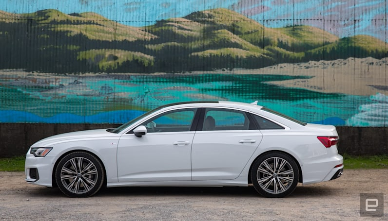 Audi's A6 offers A7 performance for less money