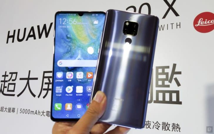 華為的巨無霸 Mate 20 X 終於在台灣推出