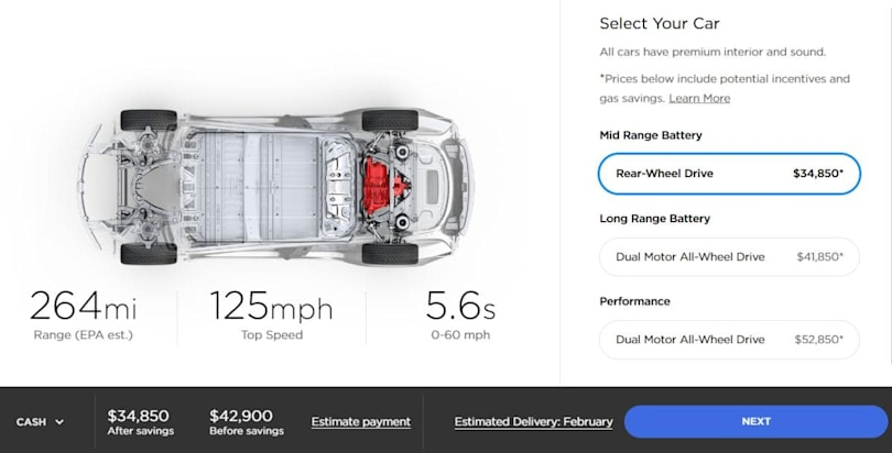 Tesla rumor claims Model 3 leasing is right around the corner