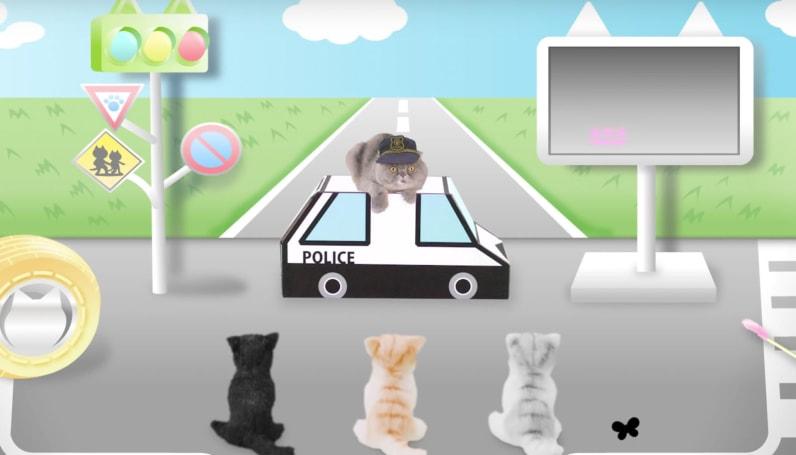 日本出了段給喵星人看的道路安全指南短片