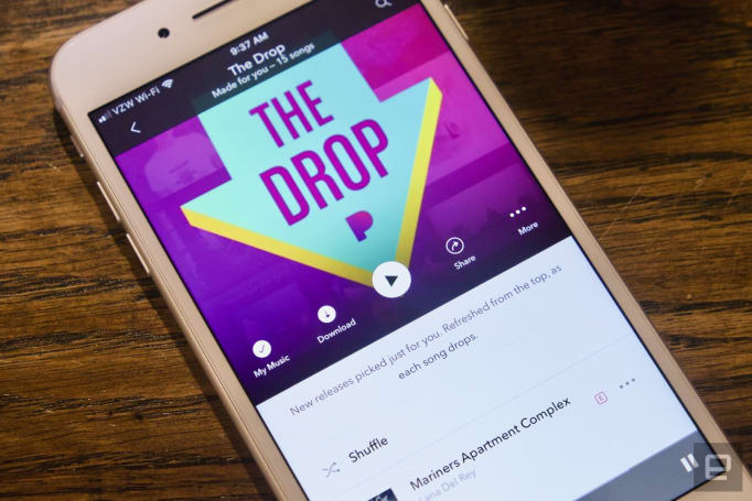 Pandora Stories merge music playlists with podcasts