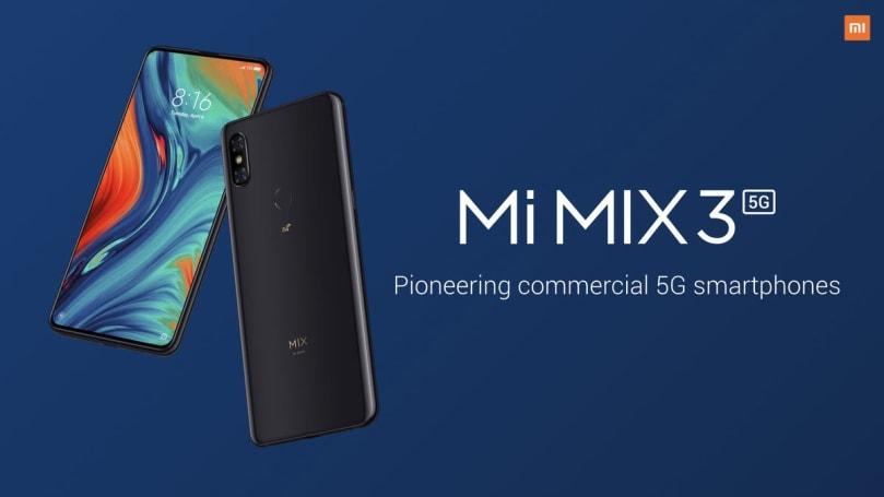 5G 版小米 MIX 3 終於亮相