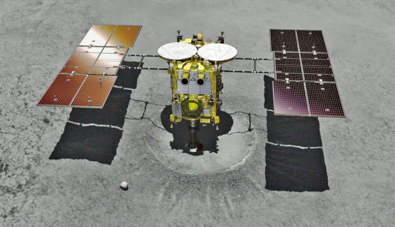 Japan's Hayabusa2 lands on asteroid Ryugu to collect samples