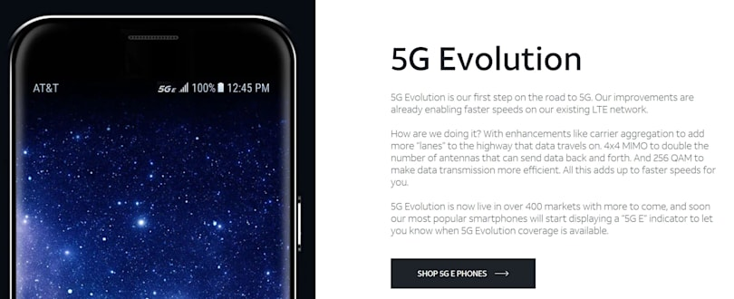 Sprint sues AT&T over its fake 5G branding