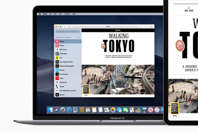 macOS 更新加入 Apple News+ 支援