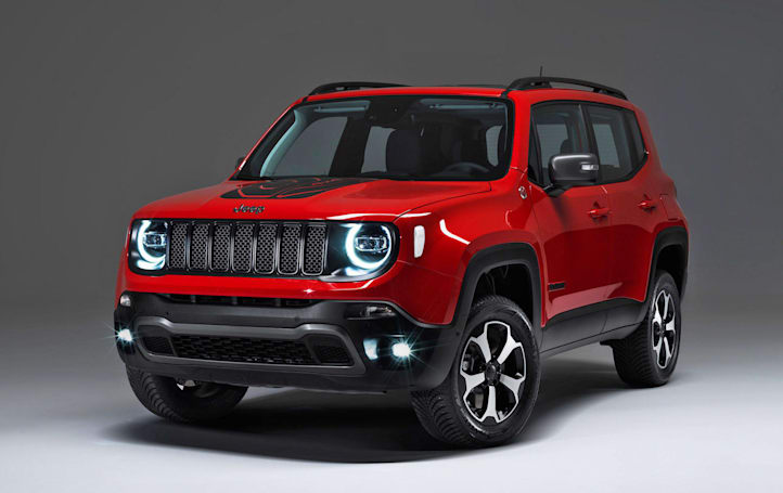 Jeep preps plug-in hybrid versions of its Compass and Renegade SUVs