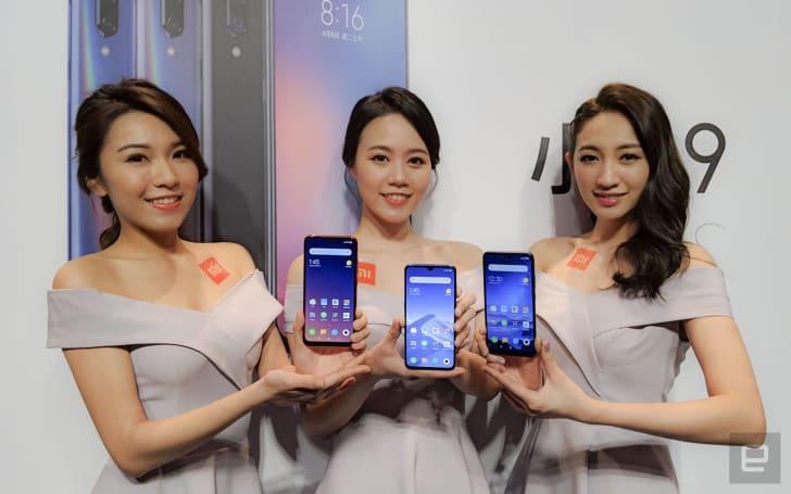 小米為台灣市場帶來小米 9、紅米 Note 7 和紅米 7 三款新機