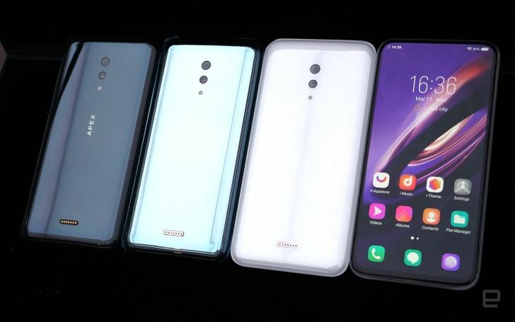 Vivo 今年的 APEX 是一款主打「無孔」概念的全玻璃 5G 手機