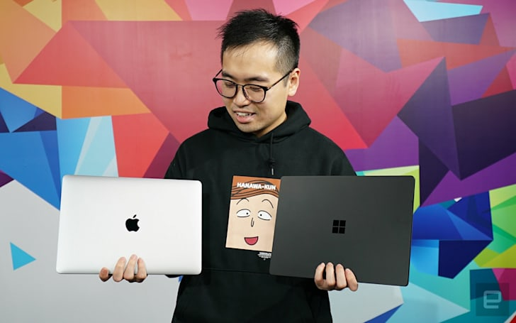 Engadget 二選一:MacBook Air 或是 Surface Laptop 2?
