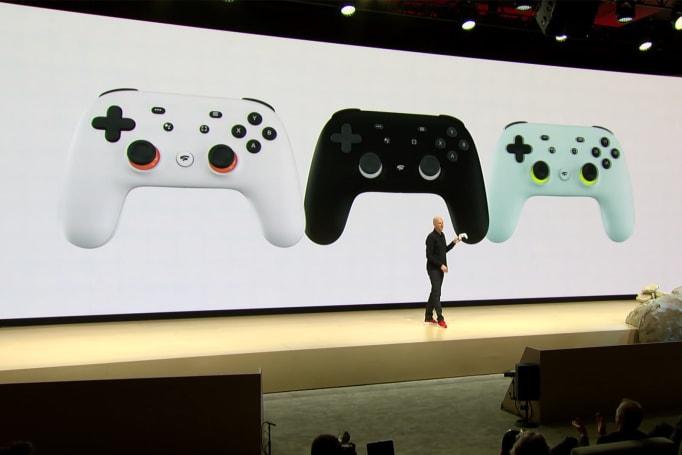 Google 為 Stadia 串流遊戲服務專門做了款手把