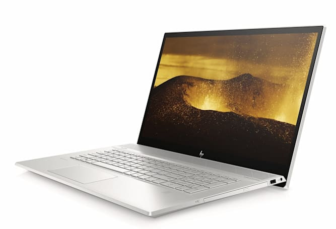 HP's Envy 17 laptop is ready for gaming and DVDs