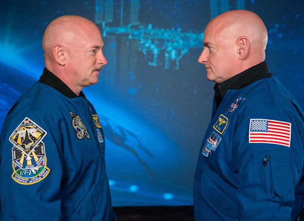 NASA compared twin astronauts to see if space ages the human body