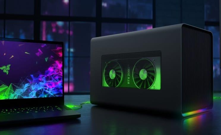 雷蛇新款外接显卡盒带来更多功能和 Chroma RGB 支持