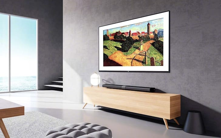 小米推出了一款「壁画电视」