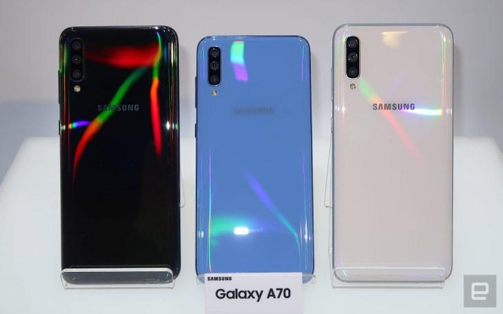 Samsung 在台推出了一票新的中階手機、平板和運動手環