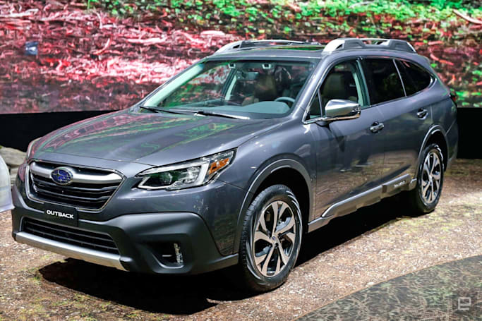 With its 2020 Outback, Subaru bets on turbo engines and big screens