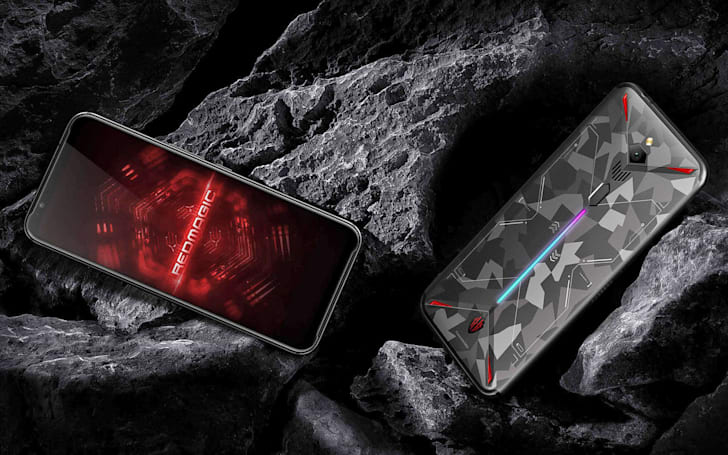 This gaming phone has a built-in cooling fan and can record 8K video