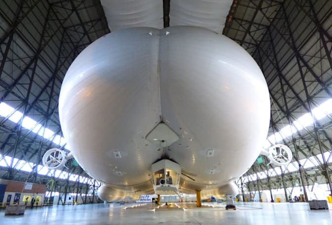 The UK's butt-shaped blimp could come back as an EV