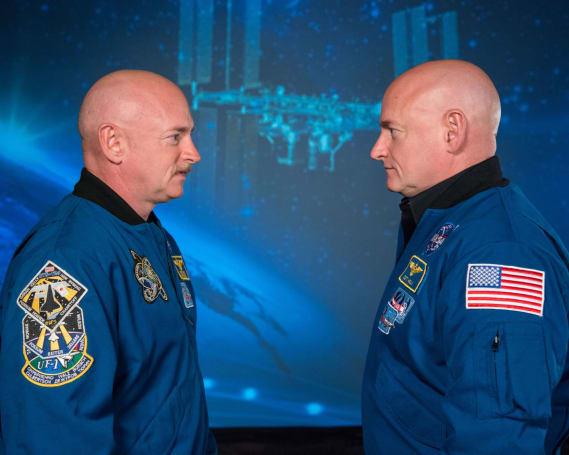 NASA 对比双胞胎宇航员,看看太空对人体究竟有什么影响
