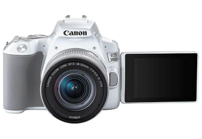 Canon 推出以輕巧為賣點的 EOS 200D II 單眼