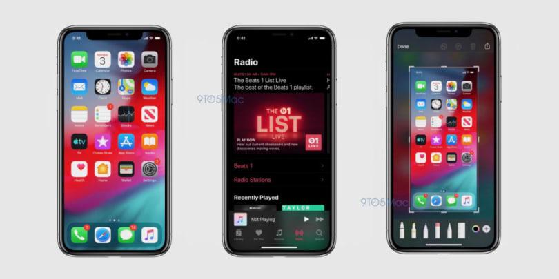 iOS 的深色模式已有谍照流出
