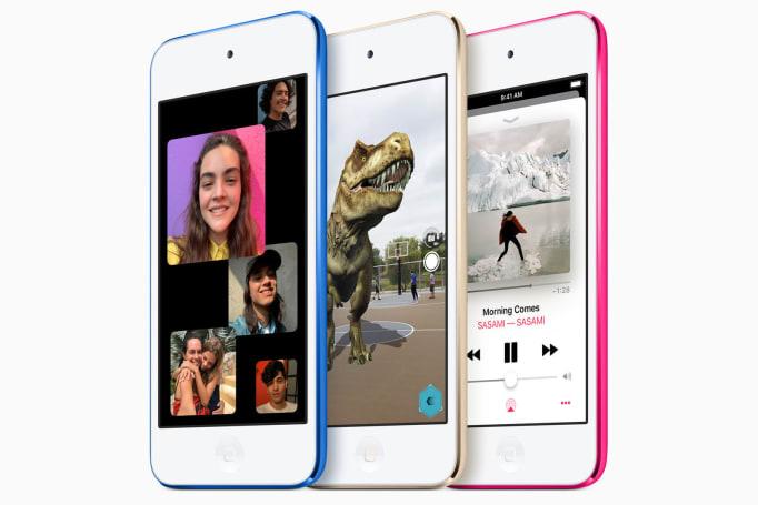 苹果为 iPod touch 换上 A10 芯片并加入 256GB 选项