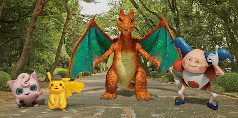 Snap selfies with Pikachu in Google Pixel's AR Playground