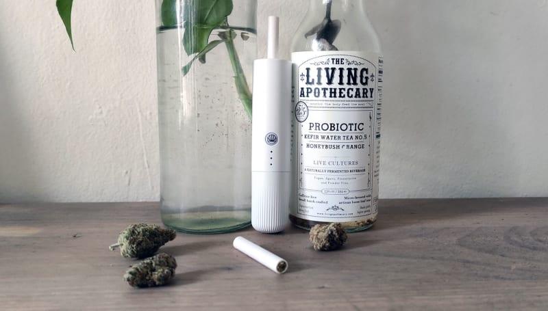 Omura's Series 1 cannabis vaporizer uses 'flower cartridges'