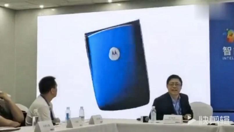 联想放出的 Moto 折叠手机介绍片并未获得原作者许可