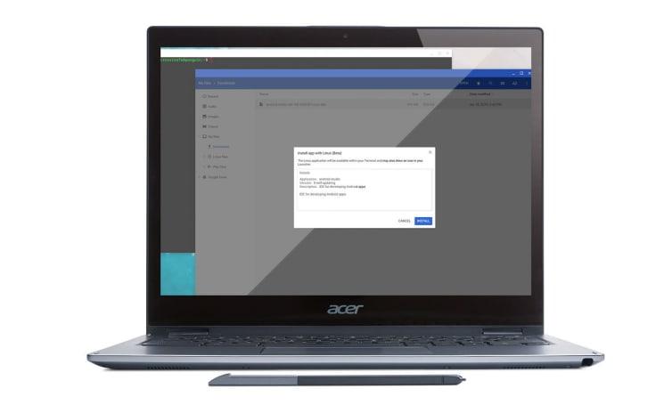 利用 Chromebook 来编写 Android 应用的过程变简单了
