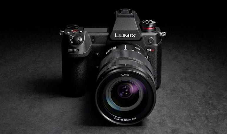 Panasonic's cinema-centric S1H mirrorless camera can shoot 6K video