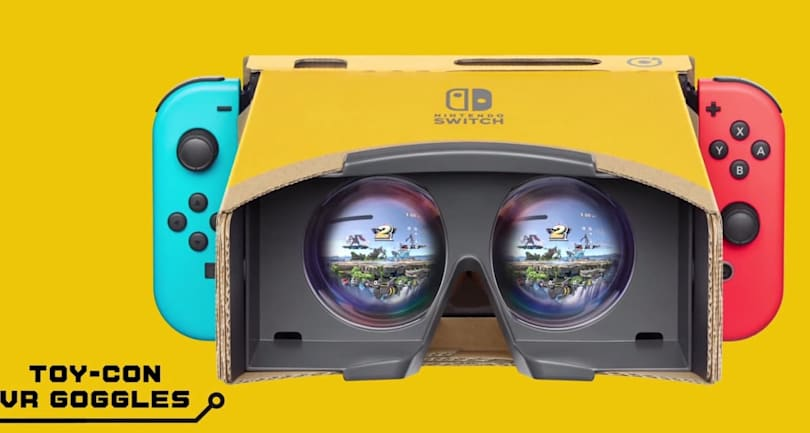 Nintendo adds a Labo VR view to 'Super Smash Bros. Ultimate' (updated)