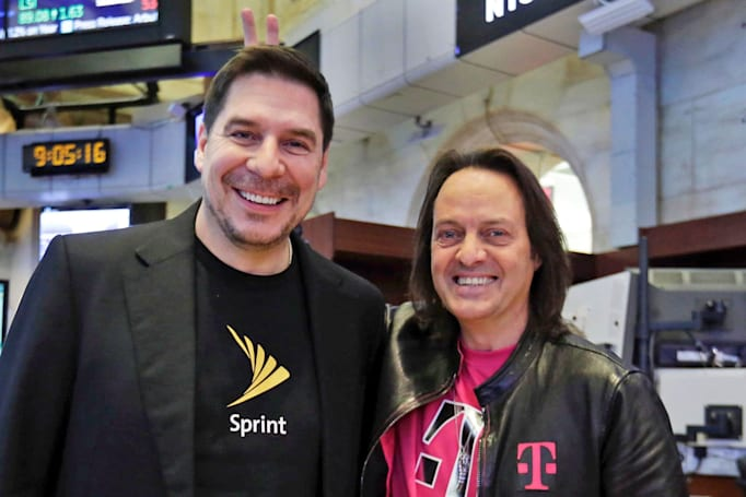 Bloomberg: T-Mobile's merger could require creating a competitor