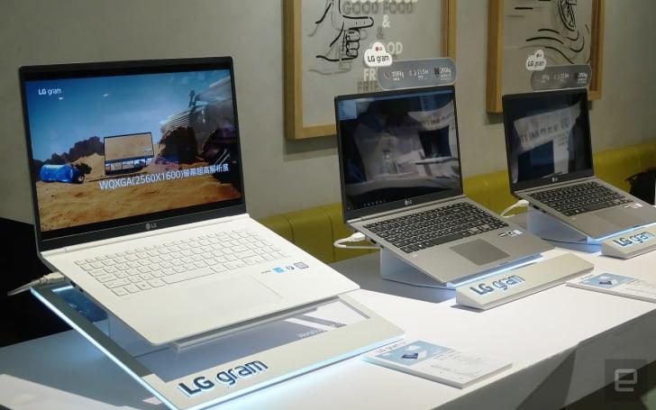世界最輕 17 吋筆電 LG gram Z990 系列在台推出