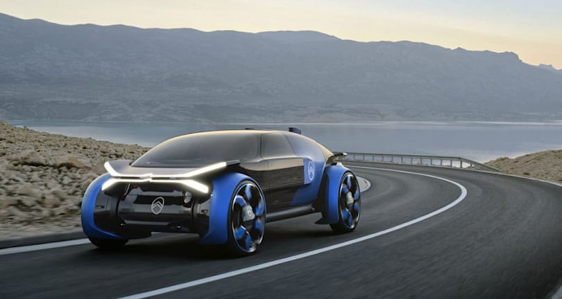 Citroen's futuristic autonomous EV concept is designed for long trips