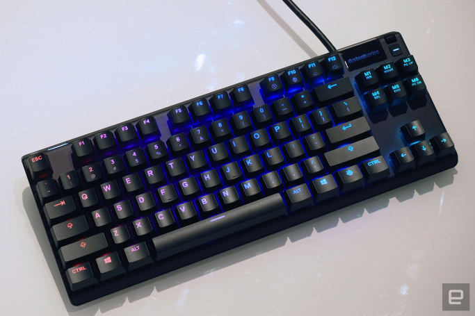 SteelSeries' Apex Pro keyboards have customizable key travel