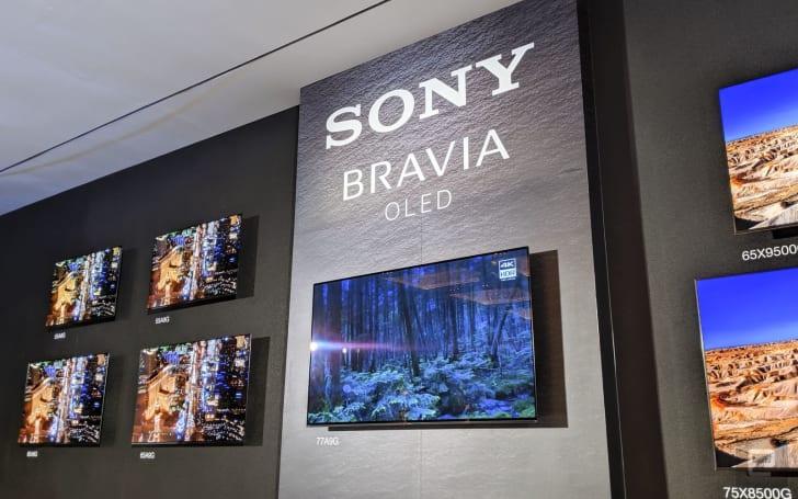 索尼 2019 年旗舰 OLED 电视来到中国