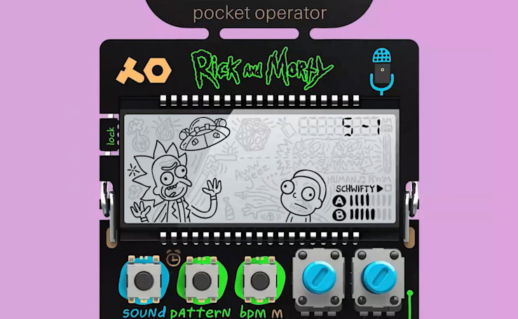 Teenage Engineering reveals pocket-sized 'Rick and Morty' synth
