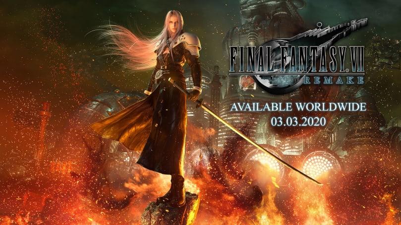 《最终幻想 VII 重制版》确定明年 3 月 3 日登陆 PS4