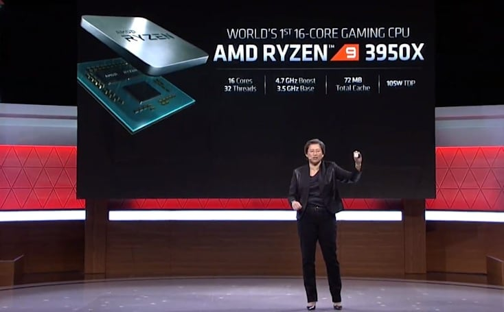 AMD's $749 Ryzen 9 3950X is the 'world's first' 16-core gaming CPU