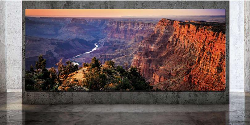 Samsung 的新款 The Wall 電視能達到 292 吋 8K 的規格