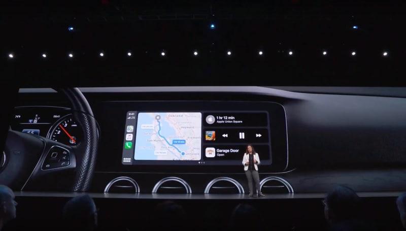 苹果重新设计的 CarPlay 可以并排放多个 app