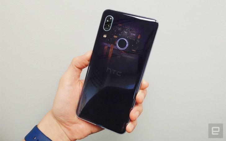 HTC U19e 動手玩,中階機也能玩虹膜解鎖