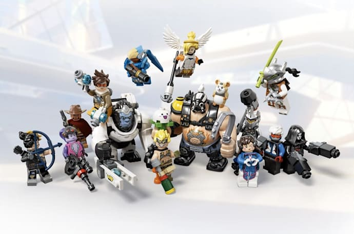 New 'Overwatch' Lego sets feature Wrecking Ball, Junkrat and Roadhog