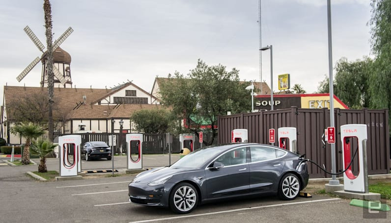 Tesla's Superchargers: The company's killer app